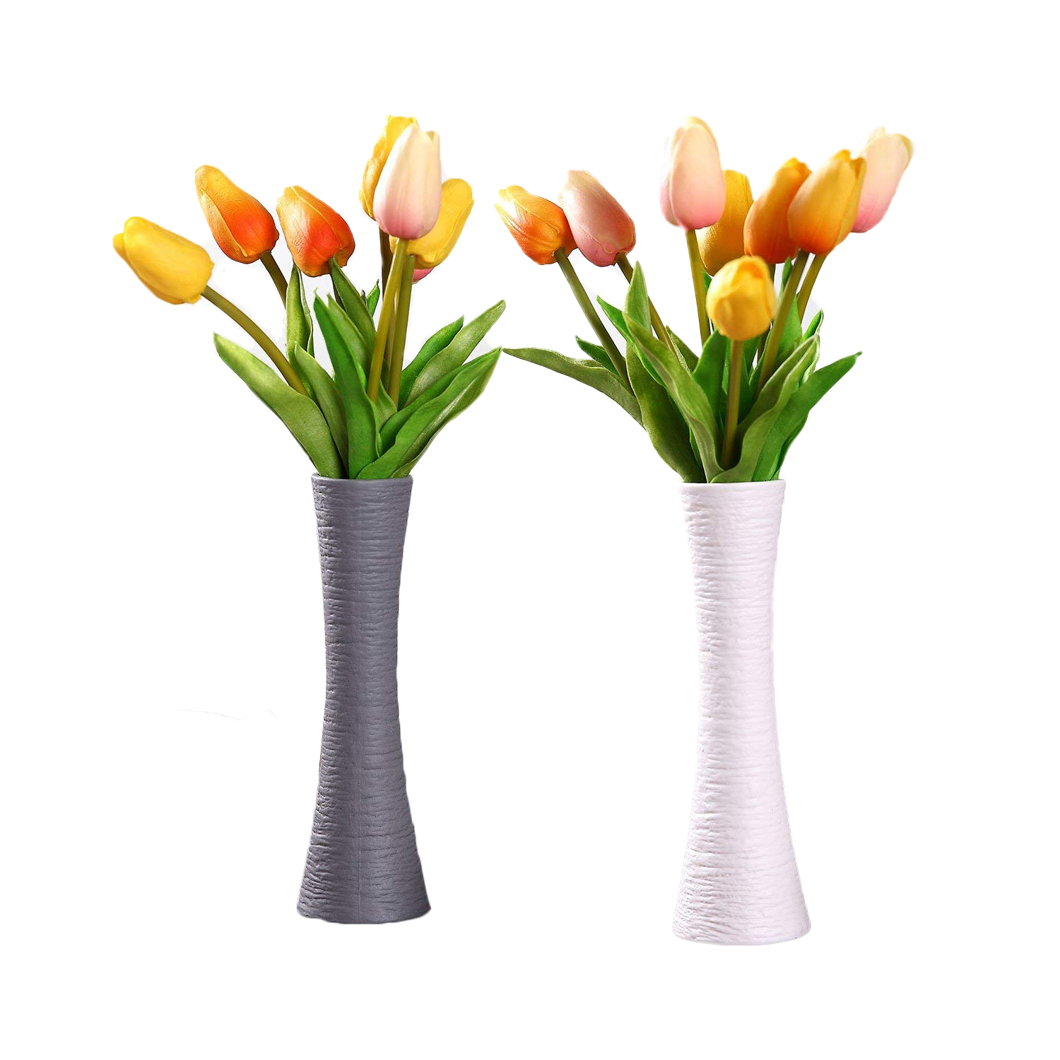 T4u white ceramic vases modern elegant home decorative flower vases t4u white ceramic vases modern elegant home decorative mightylinksfo