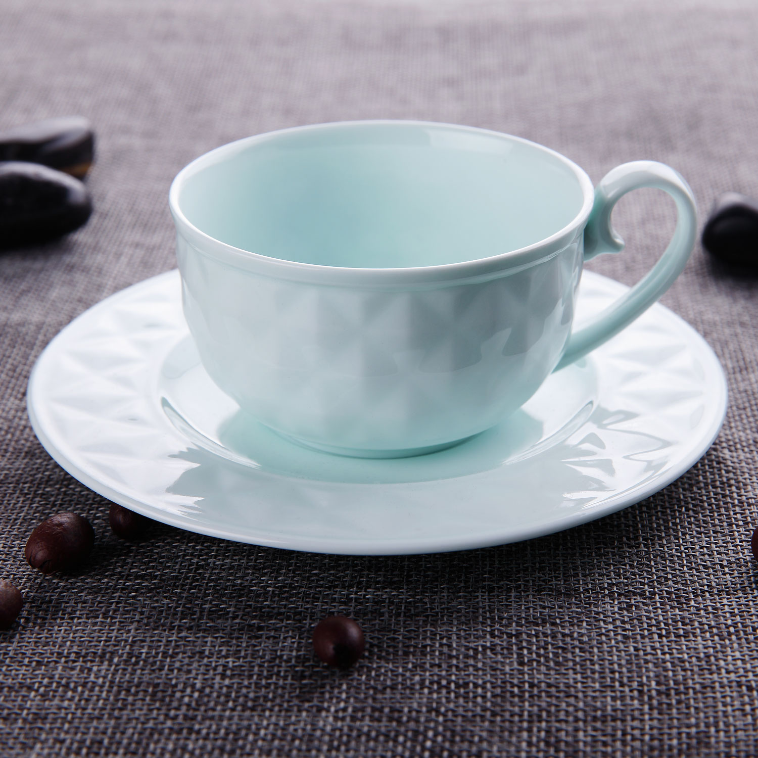 T4U-Cappuccino-Coffee-Cups-Set-Espresso-Cups-amp-Saucers-Set-Mug-White-Lightgreen