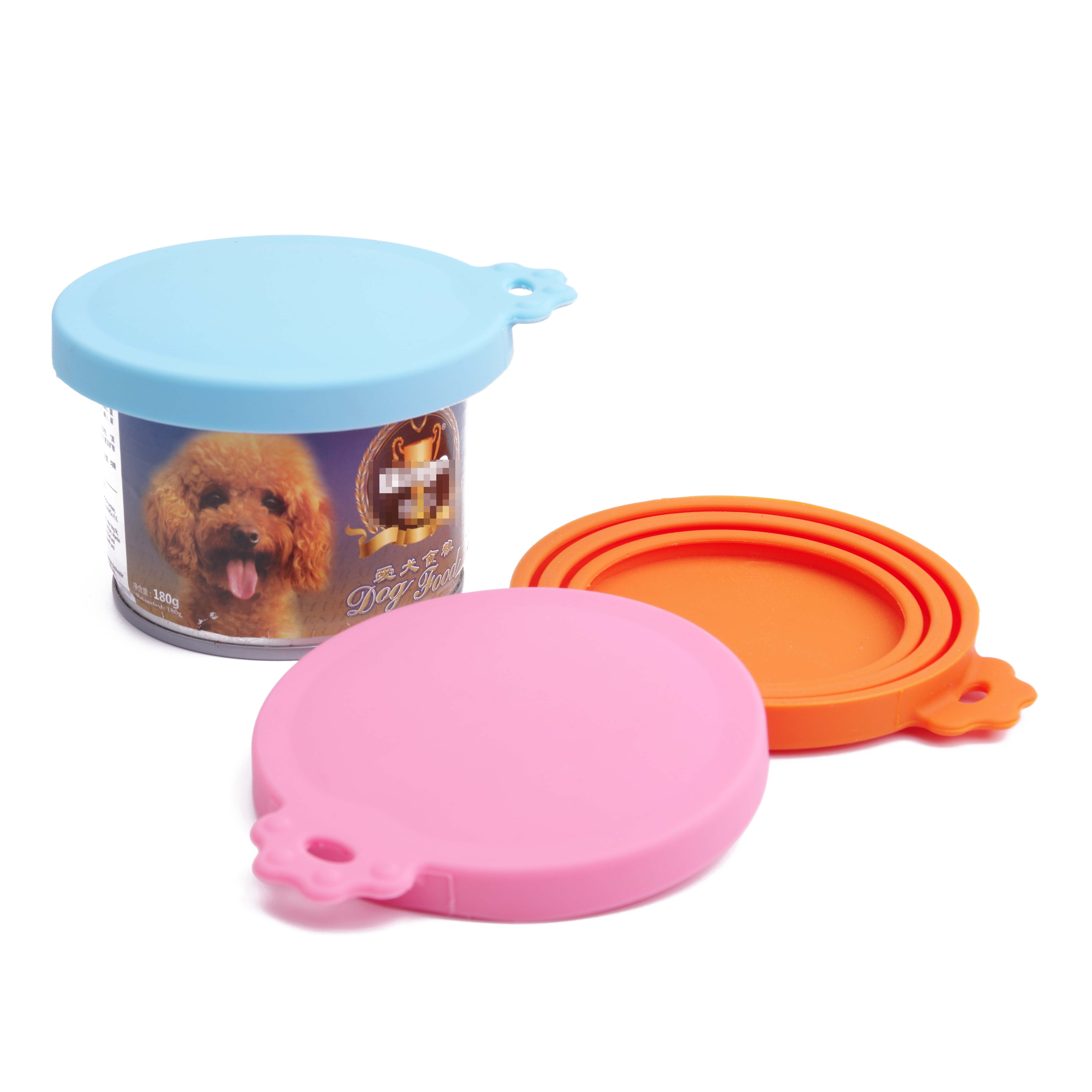Pet-Food-Can-Lid-Covers-Universal-BPA-Free-Silicone-Can-Tops-Cover-For-Dog-Cat thumbnail 18