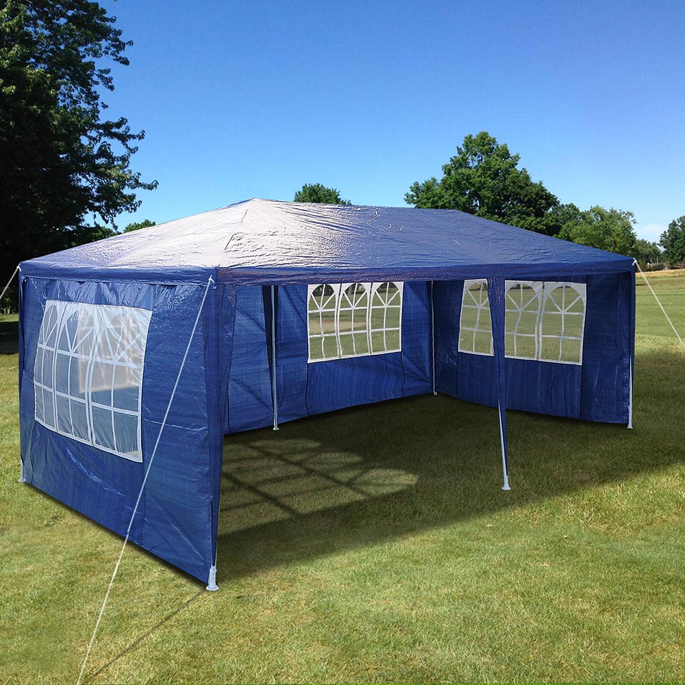 Party tent 3x6 outdoor folding canopy marquee wedding for Garden tents