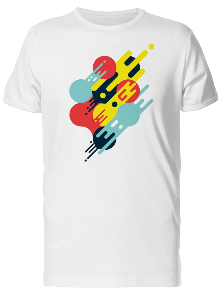 Abstract Music Art Doodle Graphic Men/'s Tee Image by Shutterstock