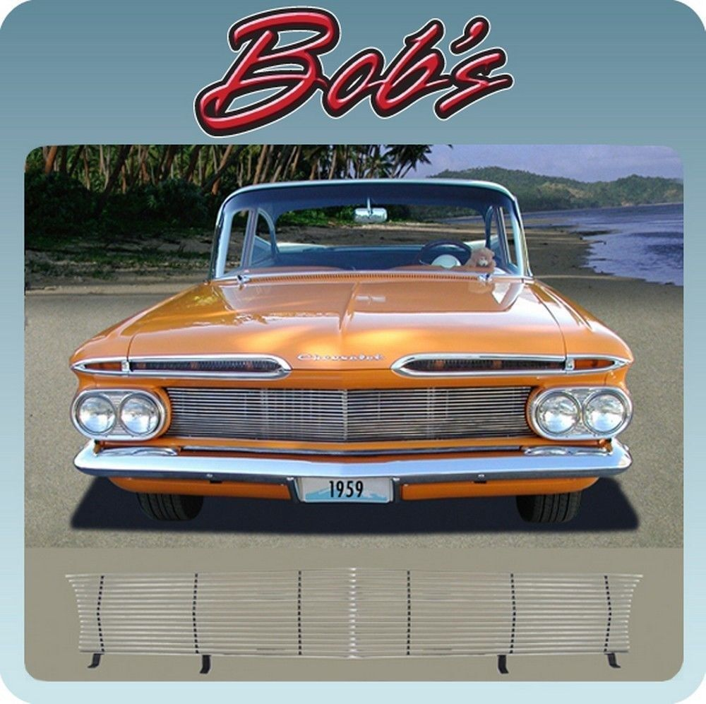 Custom Billet Grille Kit From Impala Bobs 1959 Chevy El 1954 Chevrolet Camino