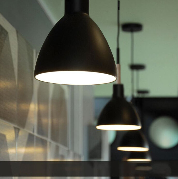 Black Pendant Lights Lamp Bedroom Dining Room Designer Ceiling Lighting Modern
