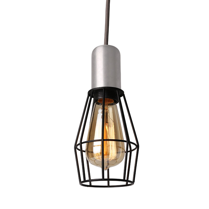 Industrial Pendant Light Steel Modern Hanging Lighting Fixtures