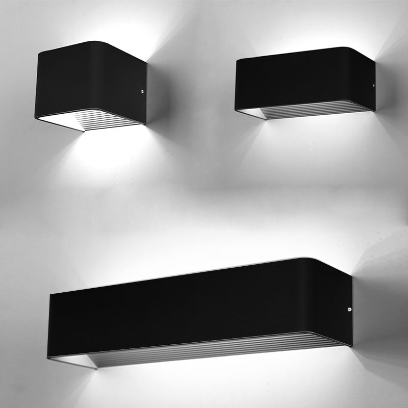 Wall Sconces Beside Tv : LED Cubic Wall Light Beside Modern Indoors Lights Sconce Lamp Fixtures eBay