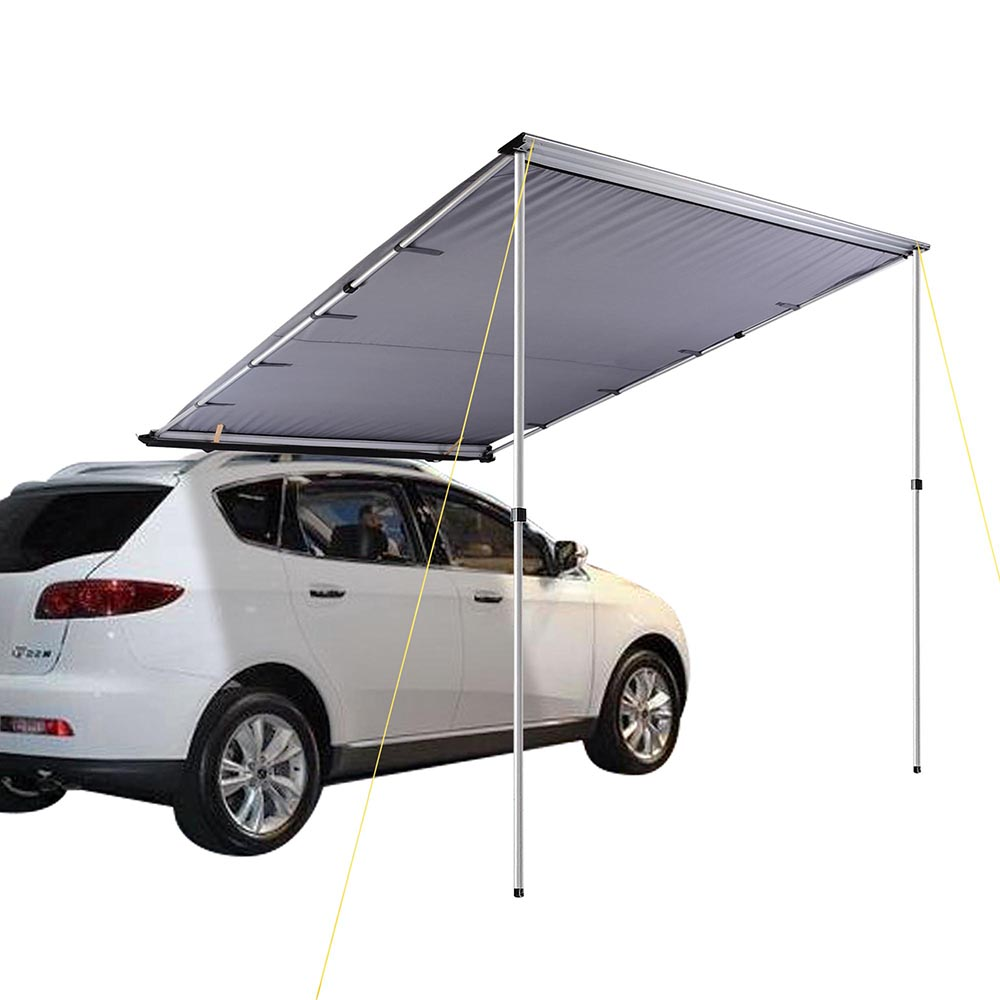 Car Side Awning Roof Rack Top Cover Tent Pull Out Camping ...