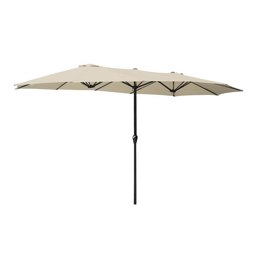 2-5m-2-7m-3m-Round-Square-Garden-Parasol-Shade-Outdoor-Patio-Umbrella-Crank-Tilt thumbnail 240