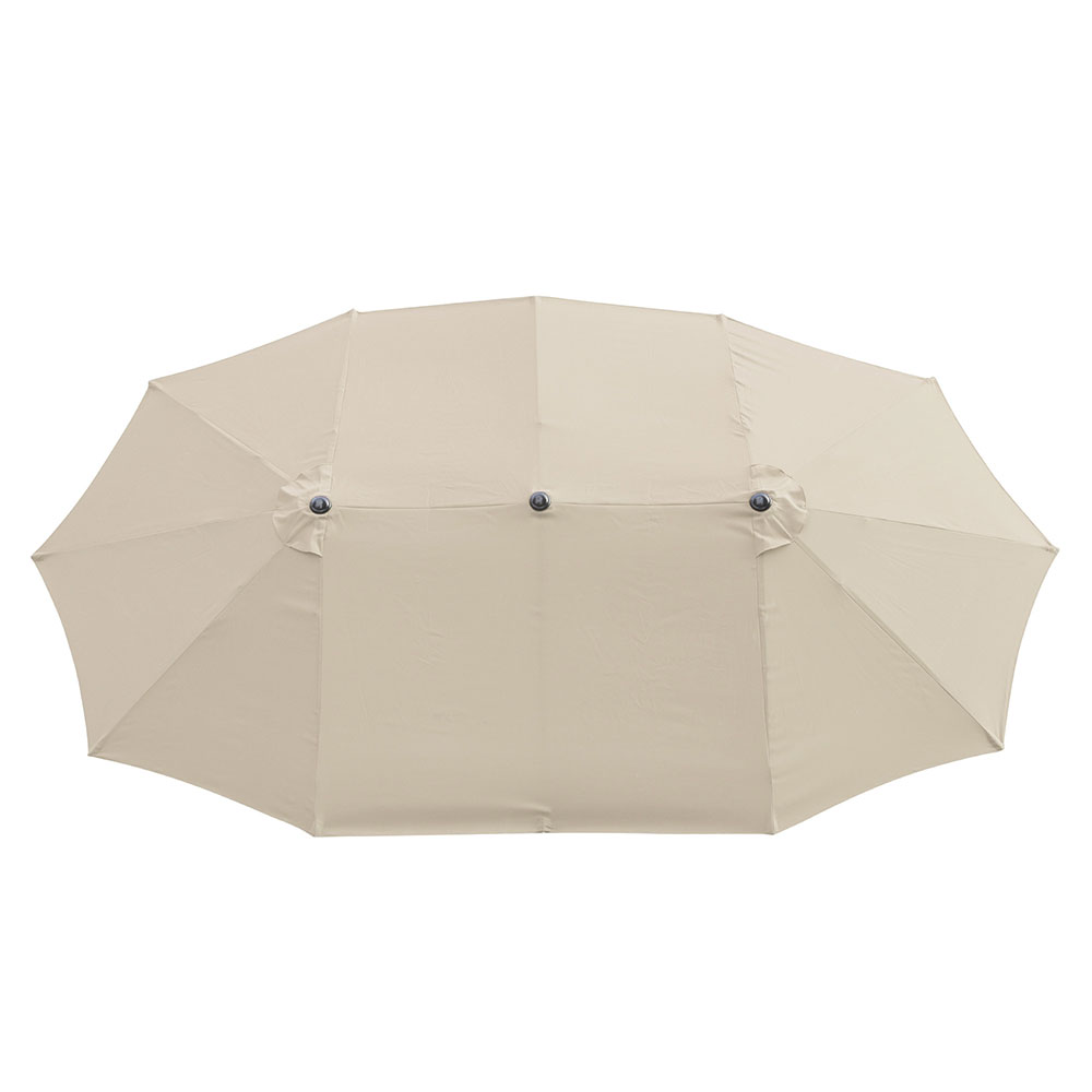 2-5m-2-7m-3m-Round-Square-Garden-Parasol-Shade-Outdoor-Patio-Umbrella-Crank-Tilt thumbnail 241