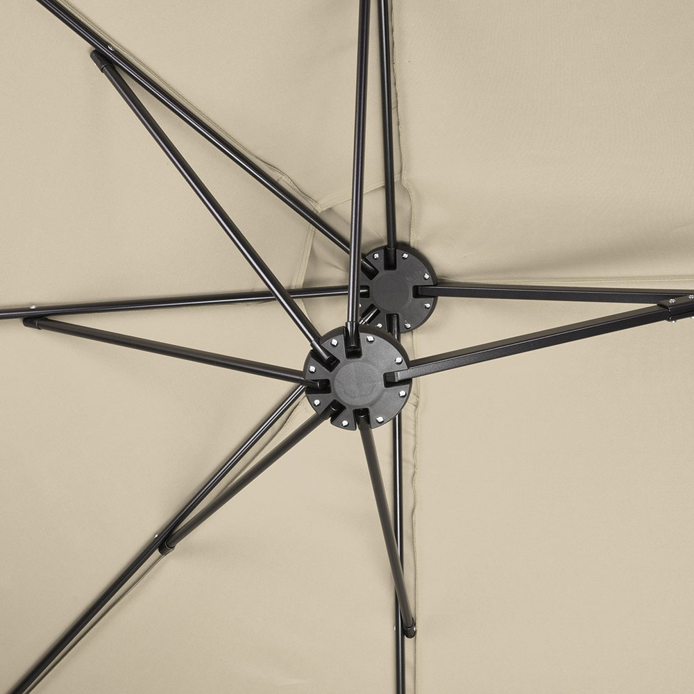 2-5m-2-7m-3m-Round-Square-Garden-Parasol-Shade-Outdoor-Patio-Umbrella-Crank-Tilt thumbnail 244