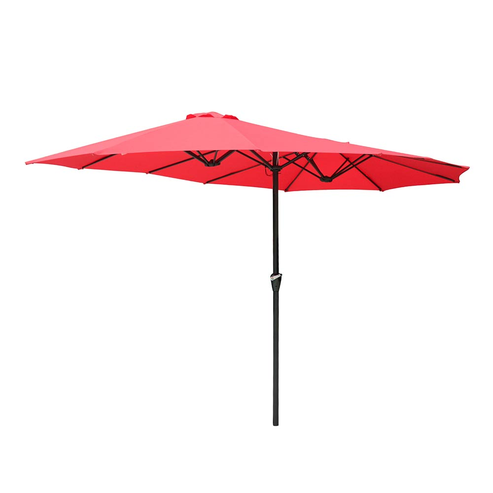 2-5m-2-7m-3m-Round-Square-Garden-Parasol-Shade-Outdoor-Patio-Umbrella-Crank-Tilt thumbnail 229