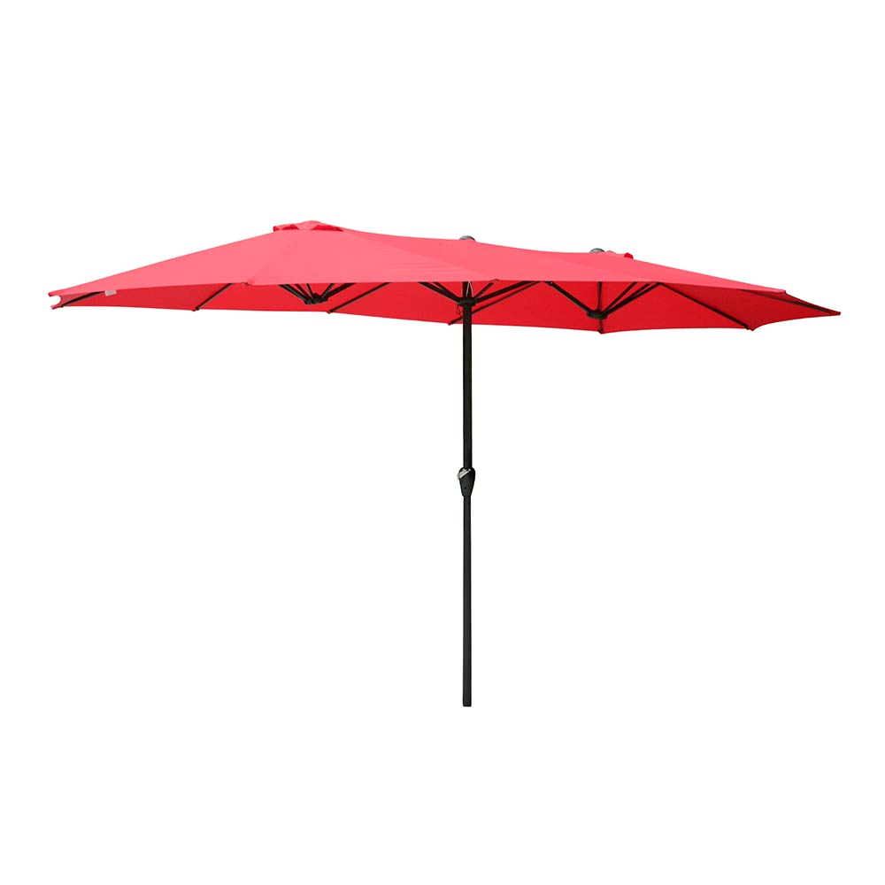 2-5m-2-7m-3m-Round-Square-Garden-Parasol-Shade-Outdoor-Patio-Umbrella-Crank-Tilt thumbnail 230