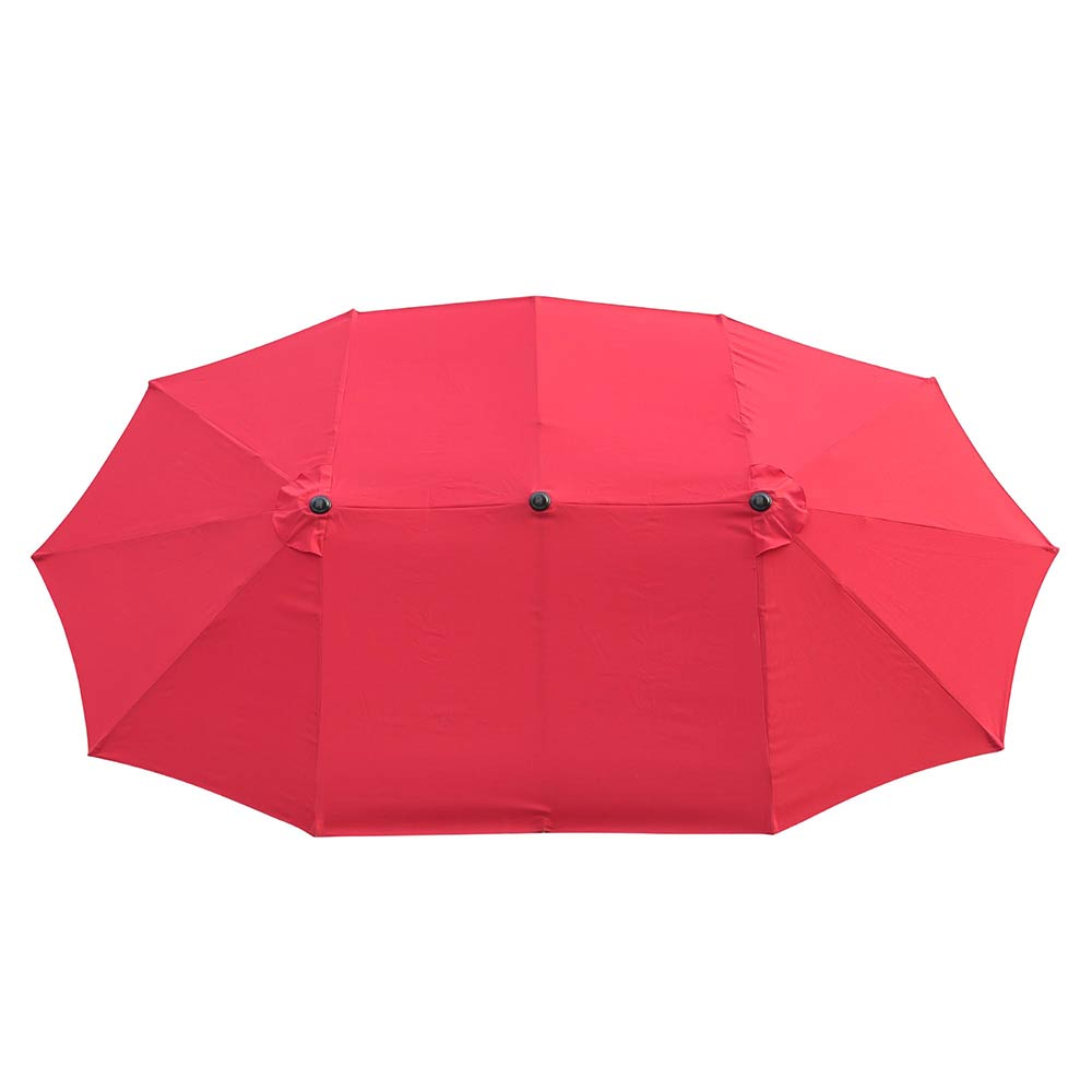 2-5m-2-7m-3m-Round-Square-Garden-Parasol-Shade-Outdoor-Patio-Umbrella-Crank-Tilt thumbnail 231