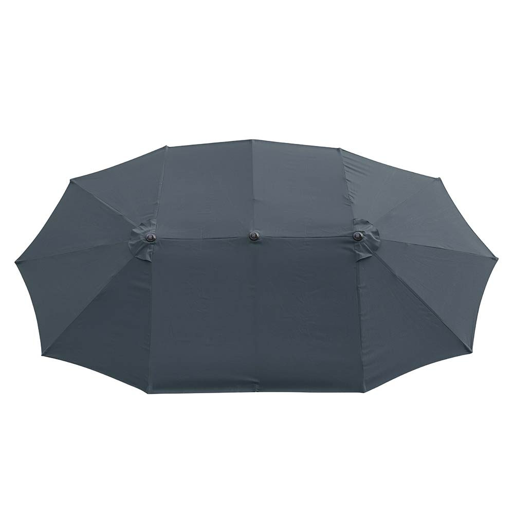 2-5m-2-7m-3m-Round-Square-Garden-Parasol-Shade-Outdoor-Patio-Umbrella-Crank-Tilt thumbnail 221