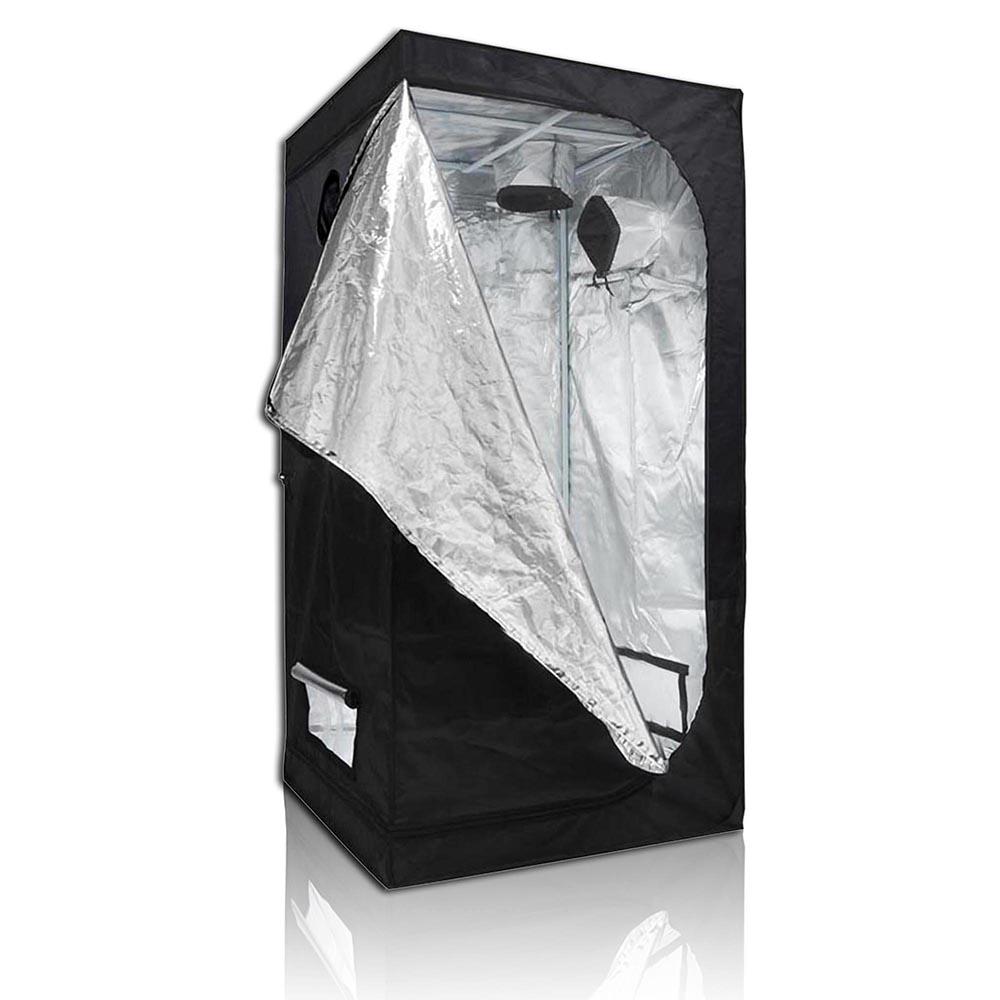 Hydroponics-Grow-Tent-Kits-Reflective-Mylar-Indoor-Tarps-Plant-Room-Oxford-Cloth thumbnail 37