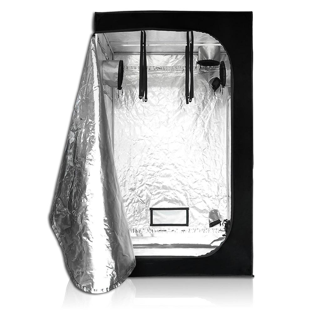 Hydroponics-Grow-Tent-Kits-Reflective-Mylar-Indoor-Tarps-Plant-Room-Oxford-Cloth thumbnail 13