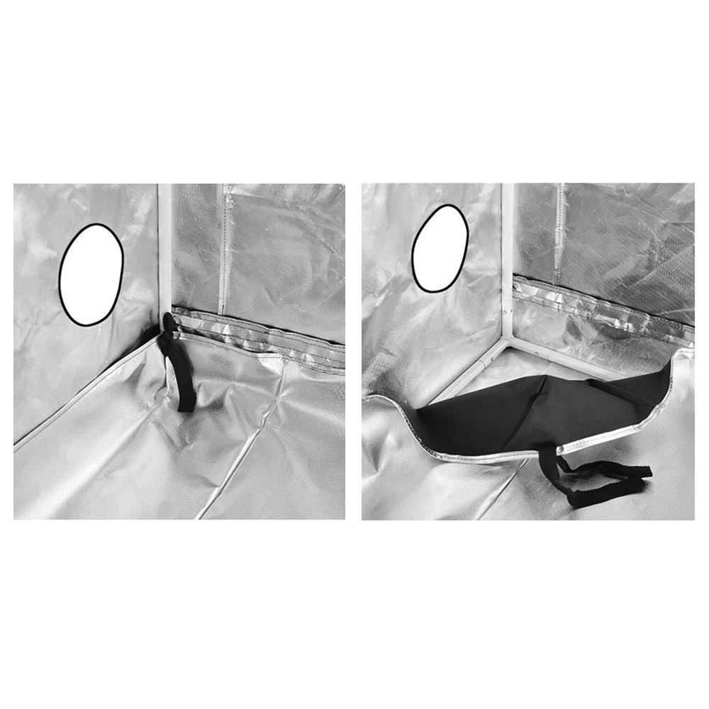 Hydroponics-Grow-Tent-Kits-Reflective-Mylar-Indoor-Tarps-Plant-Room-Oxford-Cloth thumbnail 16
