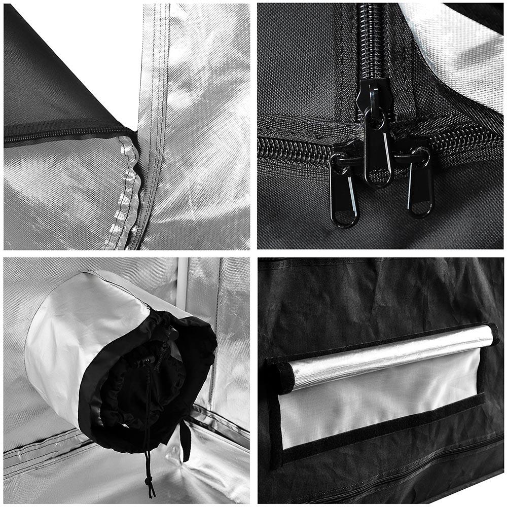 Hydroponics-Grow-Tent-Kits-Reflective-Mylar-Indoor-Tarps-Plant-Room-Oxford-Cloth thumbnail 22