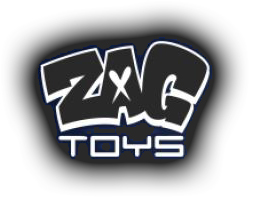 Zag Toys Bangers Spinners-Hot-new-X 1 Rouge
