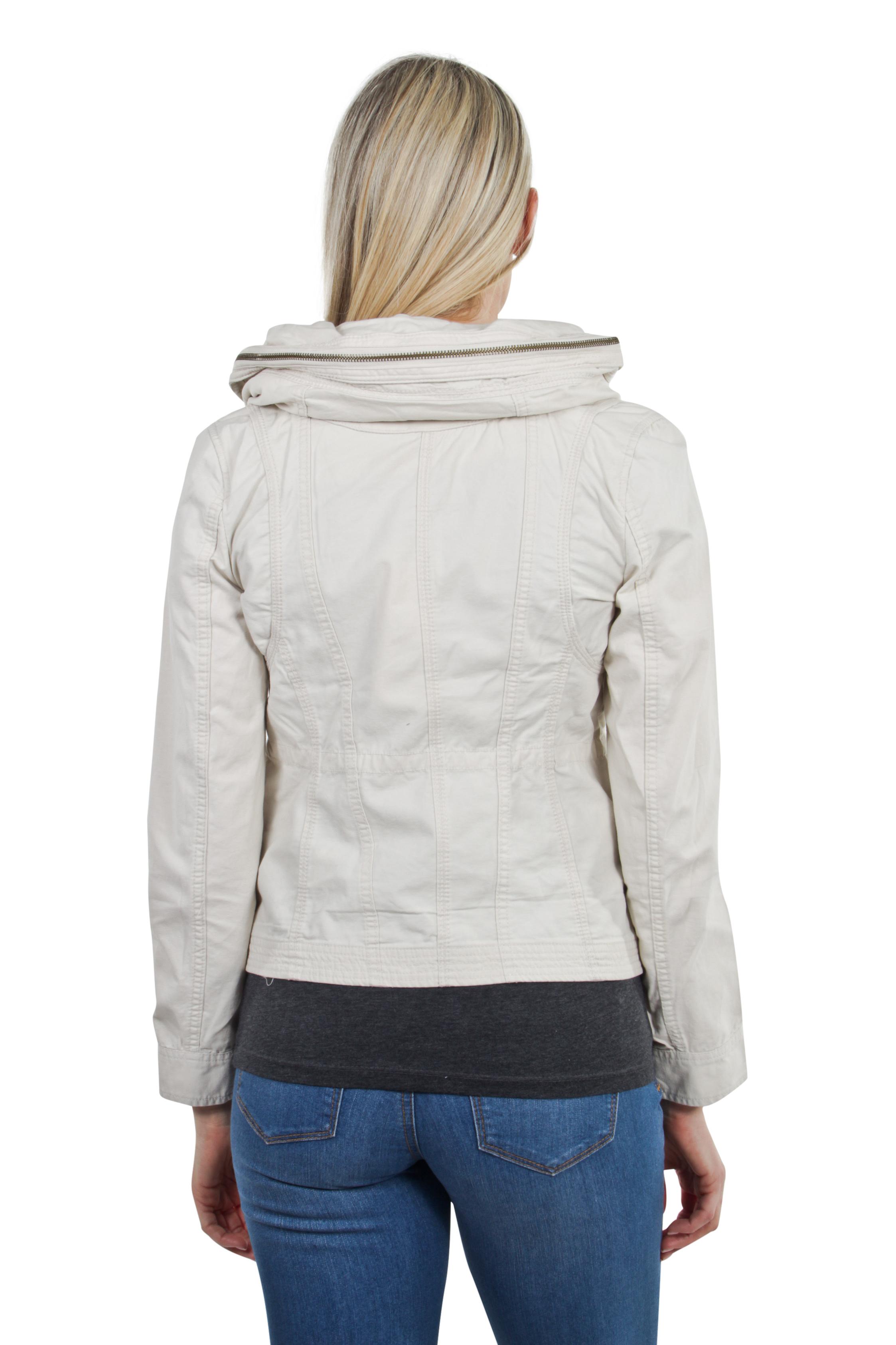Women-039-s-Juniors-Anorak-Safari-Hoodie-Long-Sleeve-Jacket thumbnail 7