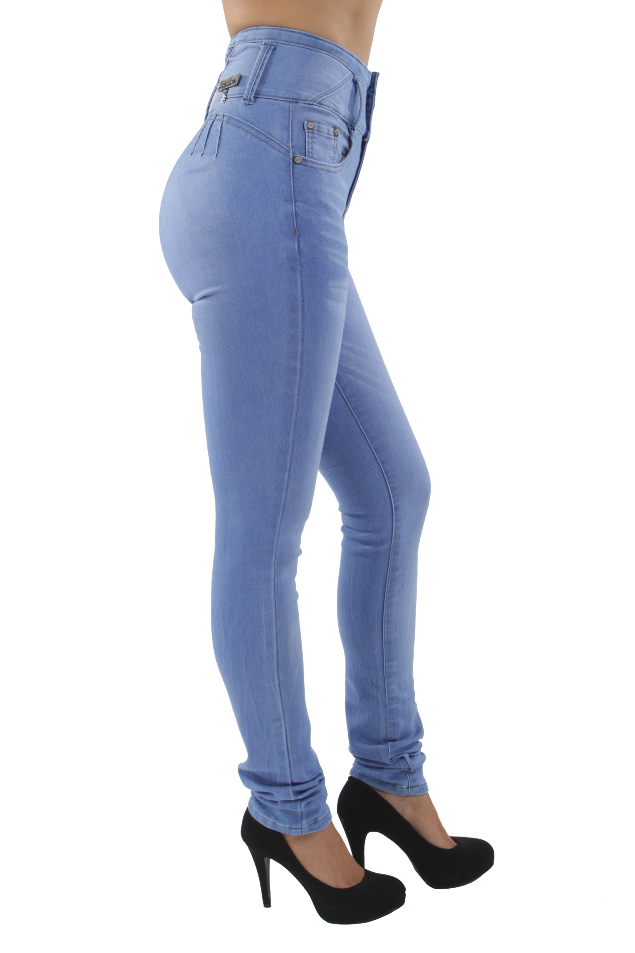 S6490-Colombian-Design-Butt-Lift-Push-Up-High-Elastic-Waist-Skinny-Jeans