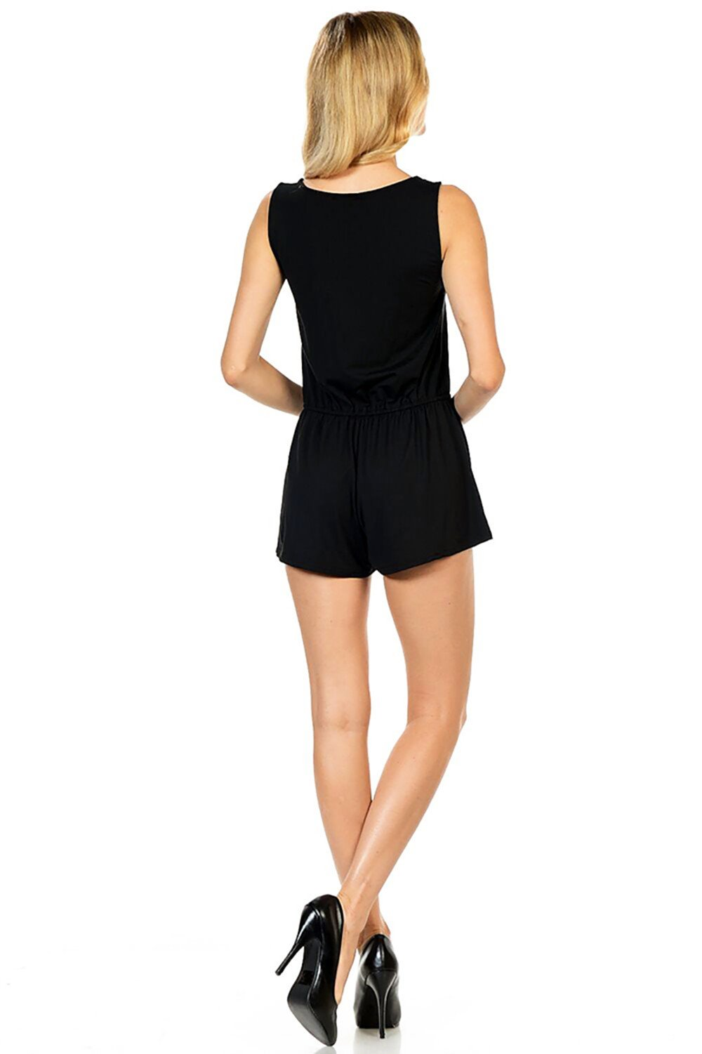 Style-C84-Sleeveless-Sexy-Short-Romper-Jumpsuit-with-Zipper thumbnail 10