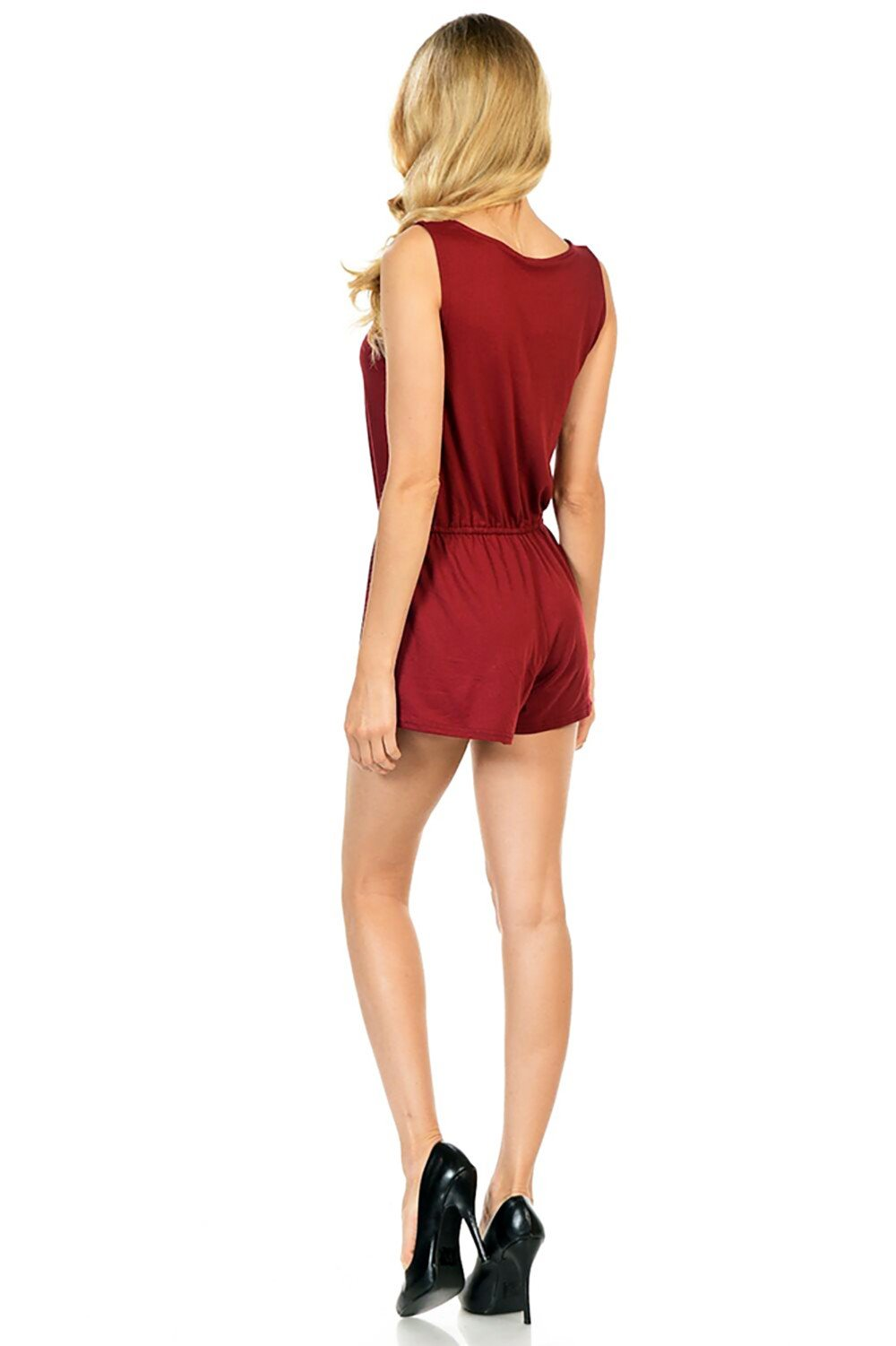 Style-C84-Sleeveless-Sexy-Short-Romper-Jumpsuit-with-Zipper thumbnail 15