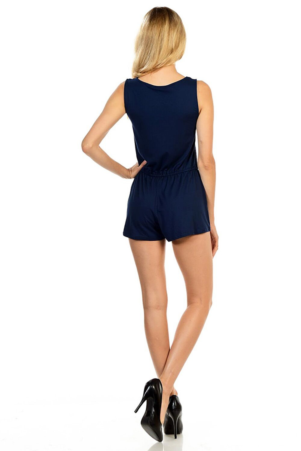 Style-C84-Sleeveless-Sexy-Short-Romper-Jumpsuit-with-Zipper thumbnail 25