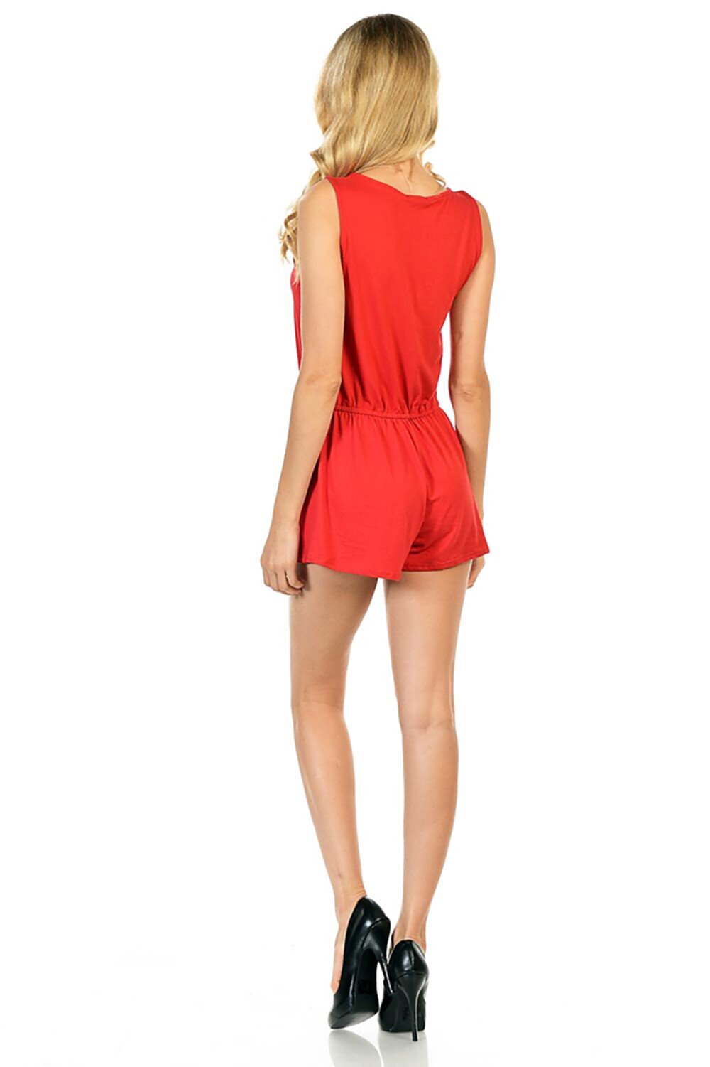 Style-C84-Sleeveless-Sexy-Short-Romper-Jumpsuit-with-Zipper thumbnail 30