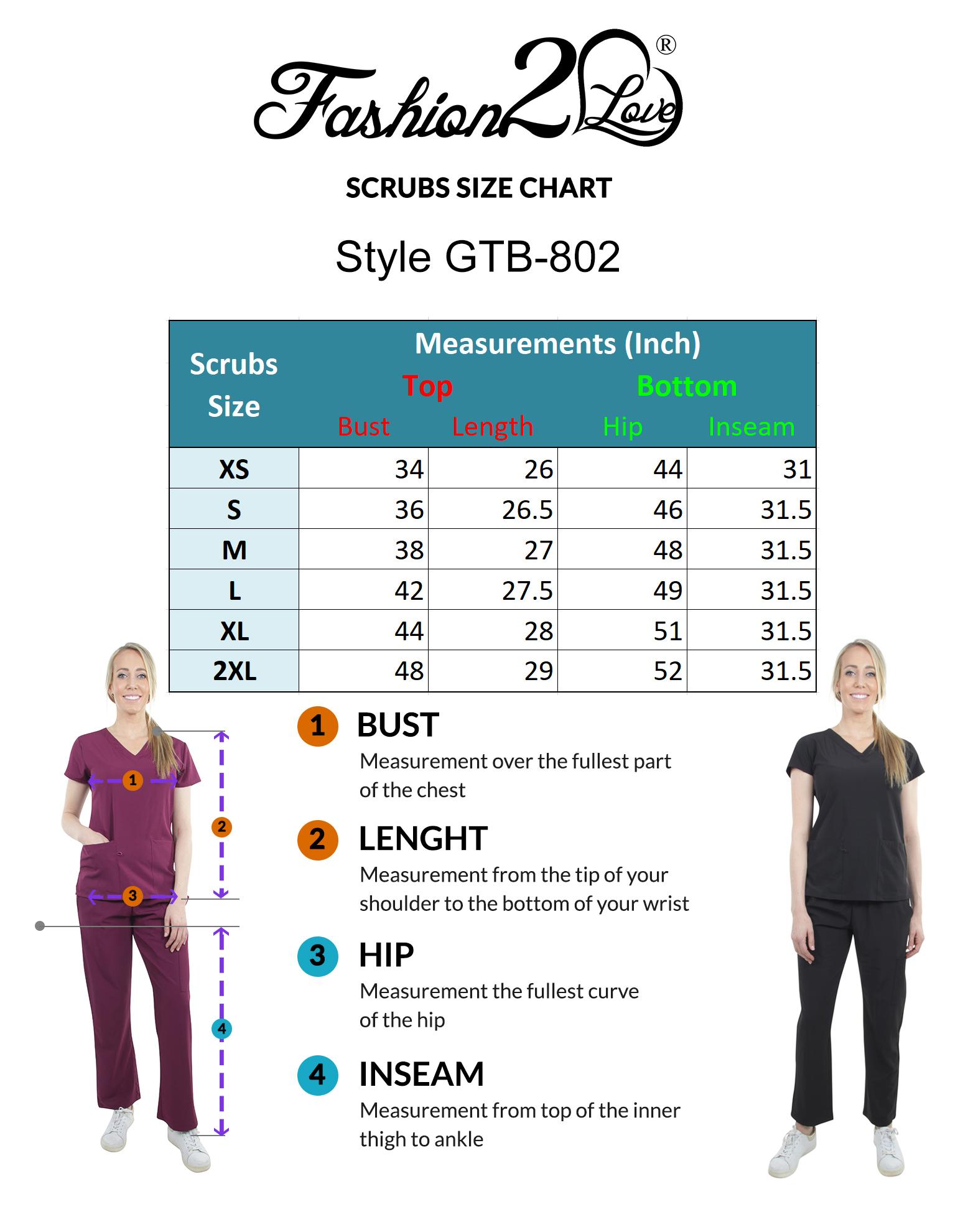 Unisex-Performance-Stretch-Medical-Uniform-Five-Pockets-V-Neck-Scrubs-Sets miniature 17