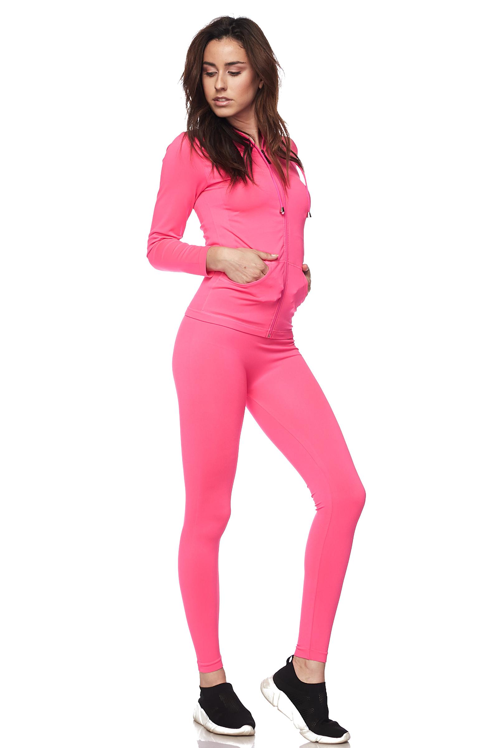 Women-039-s-Juniors-Active-Set-Wear-Zip-Up-Hoodie-and-Legging thumbnail 30
