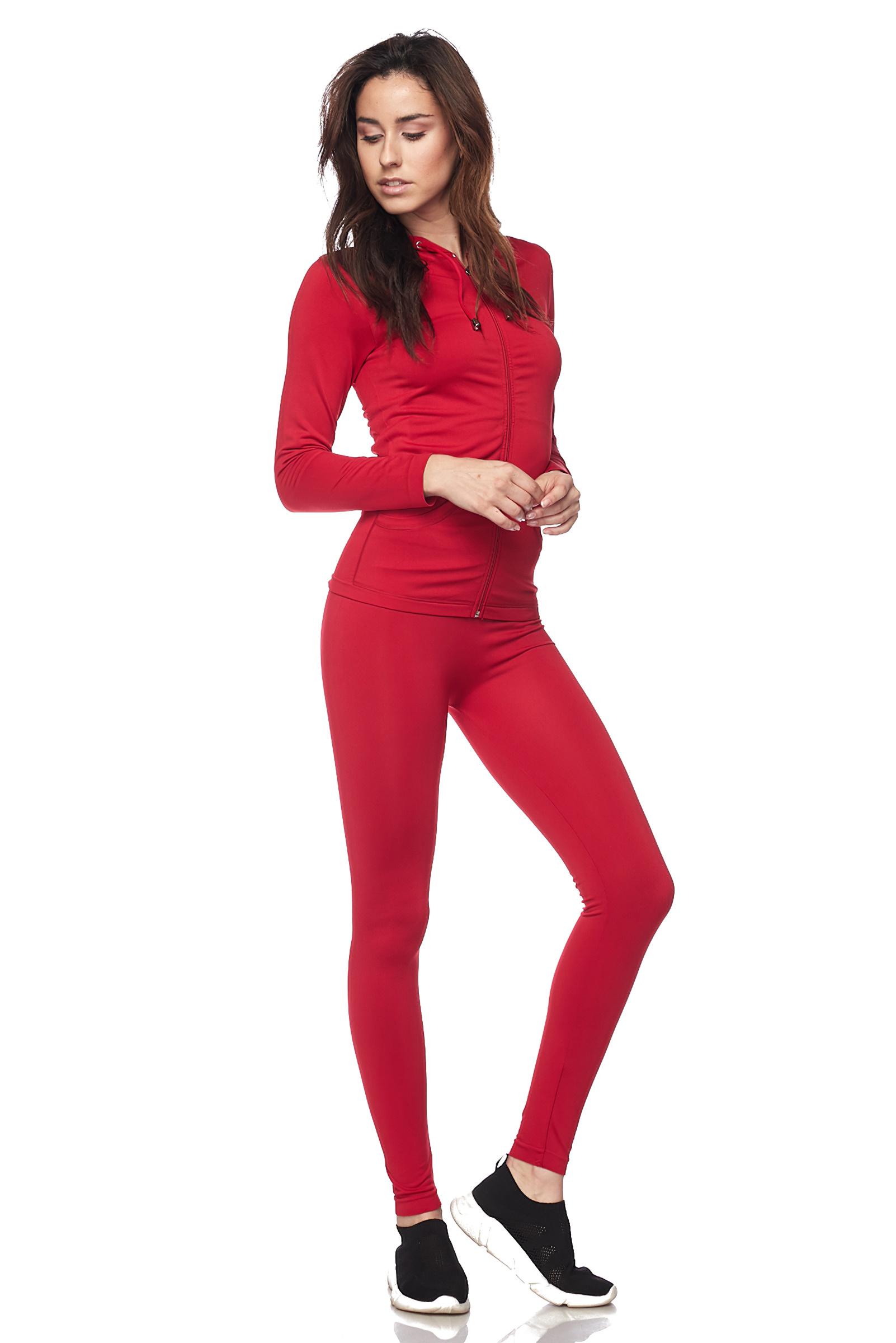 Women-039-s-Juniors-Active-Set-Wear-Zip-Up-Hoodie-and-Legging thumbnail 37