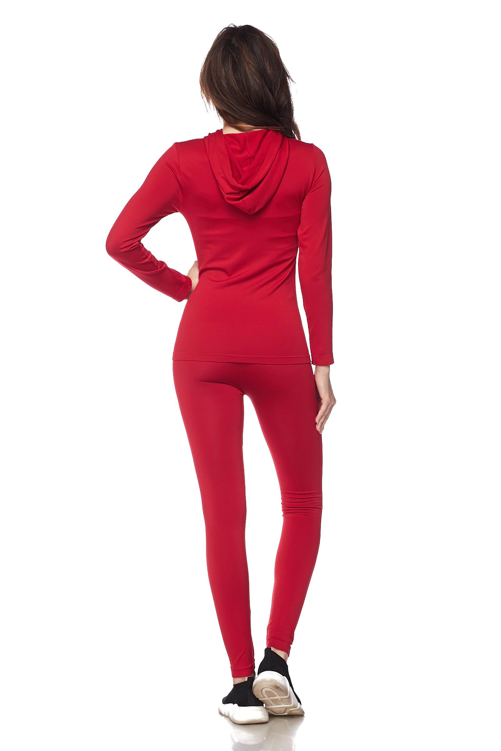 Women-039-s-Juniors-Active-Set-Wear-Zip-Up-Hoodie-and-Legging thumbnail 41