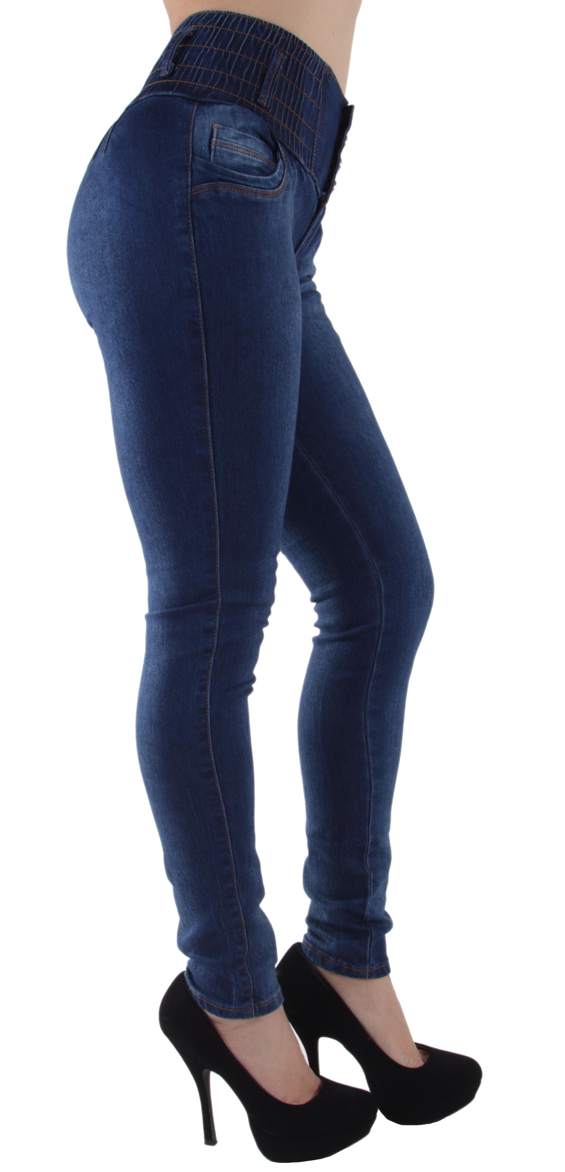 N2127-Butt-Lift-Levanta-Cola-High-Elastic-Waist-Skinny-Jeans