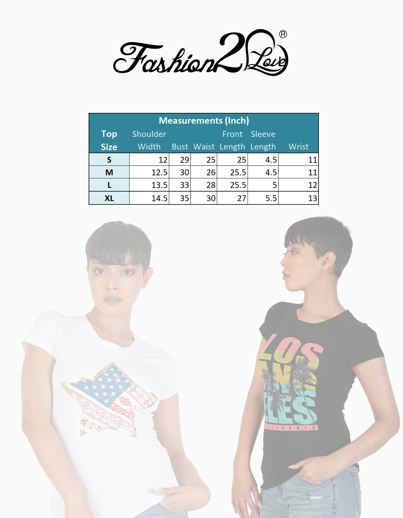 Women-039-s-Juniors-Patriotic-Casual-Graphic-Print-Short-Sleeve-T-Shirt-Top thumbnail 8
