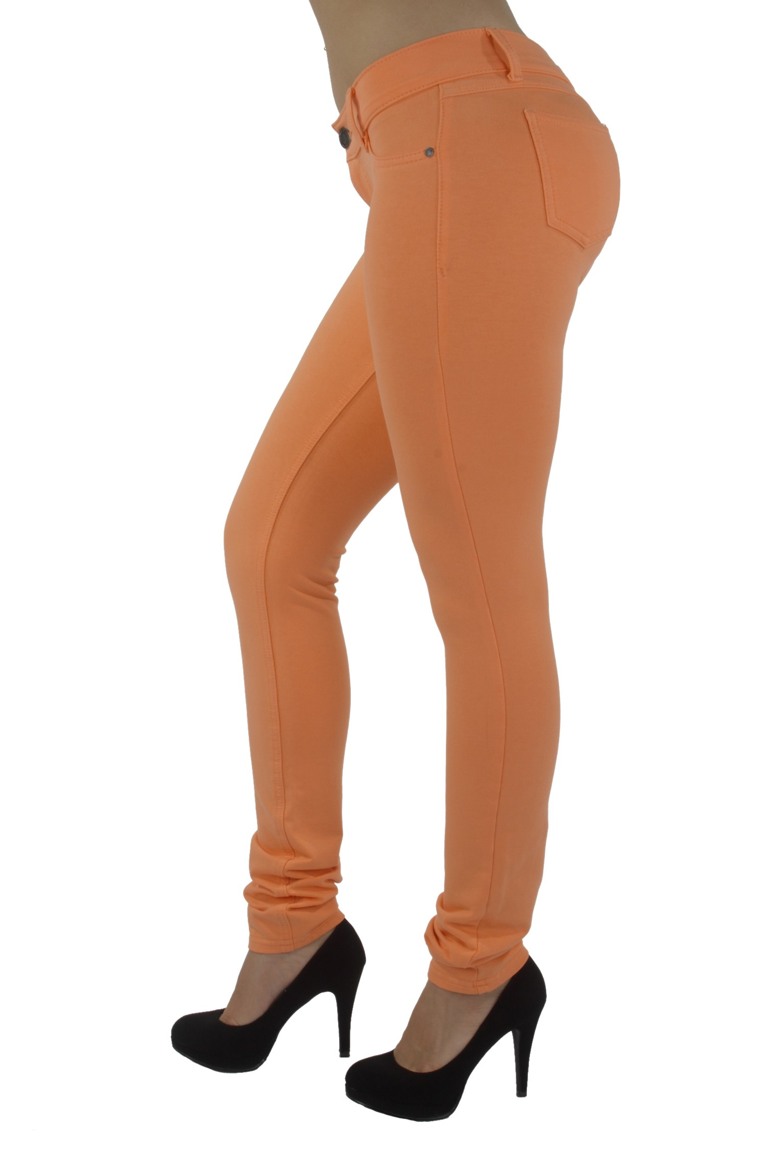 U-Turn Jeans Basic Skinny Leg Super Stretch Premium Cotton -1938