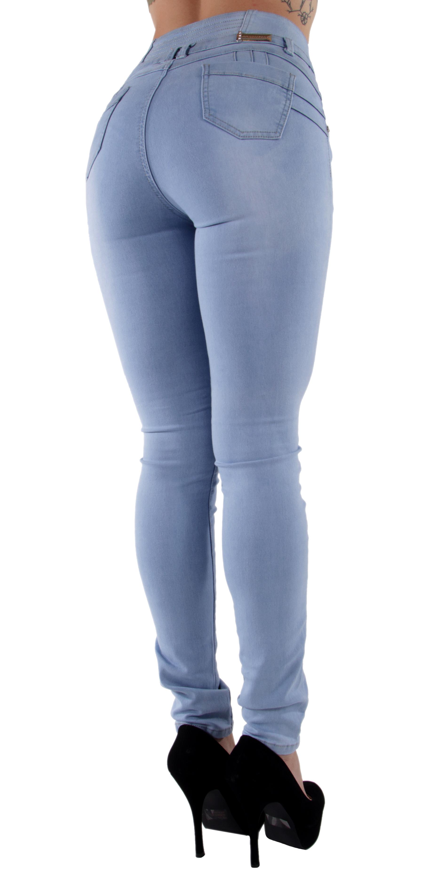 2e1b6ff972d Brazilian-Design-Butt-Lift-High-Waist-Skinny-Jeans thumbnail