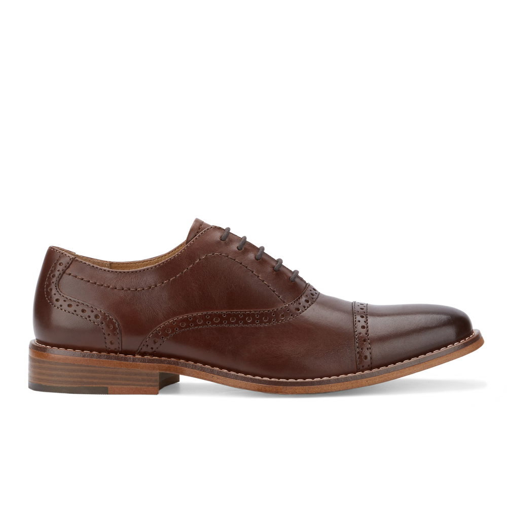 G-H-Bass-amp-Co-Mens-Carnell-Genuine-Leather-Brogued-Cap-Toe-Lace-up-Oxford-Shoe thumbnail 18