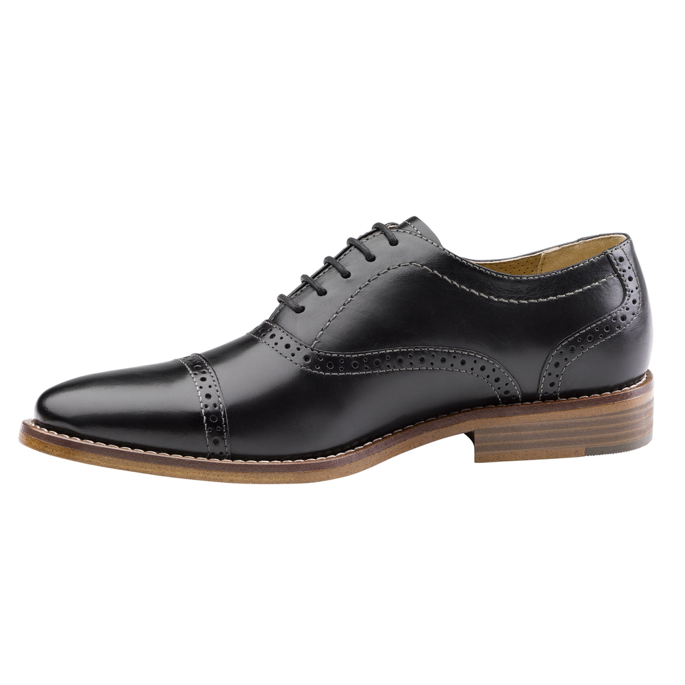 G-H-Bass-amp-Co-Mens-Carnell-Genuine-Leather-Brogued-Cap-Toe-Lace-up-Oxford-Shoe thumbnail 11