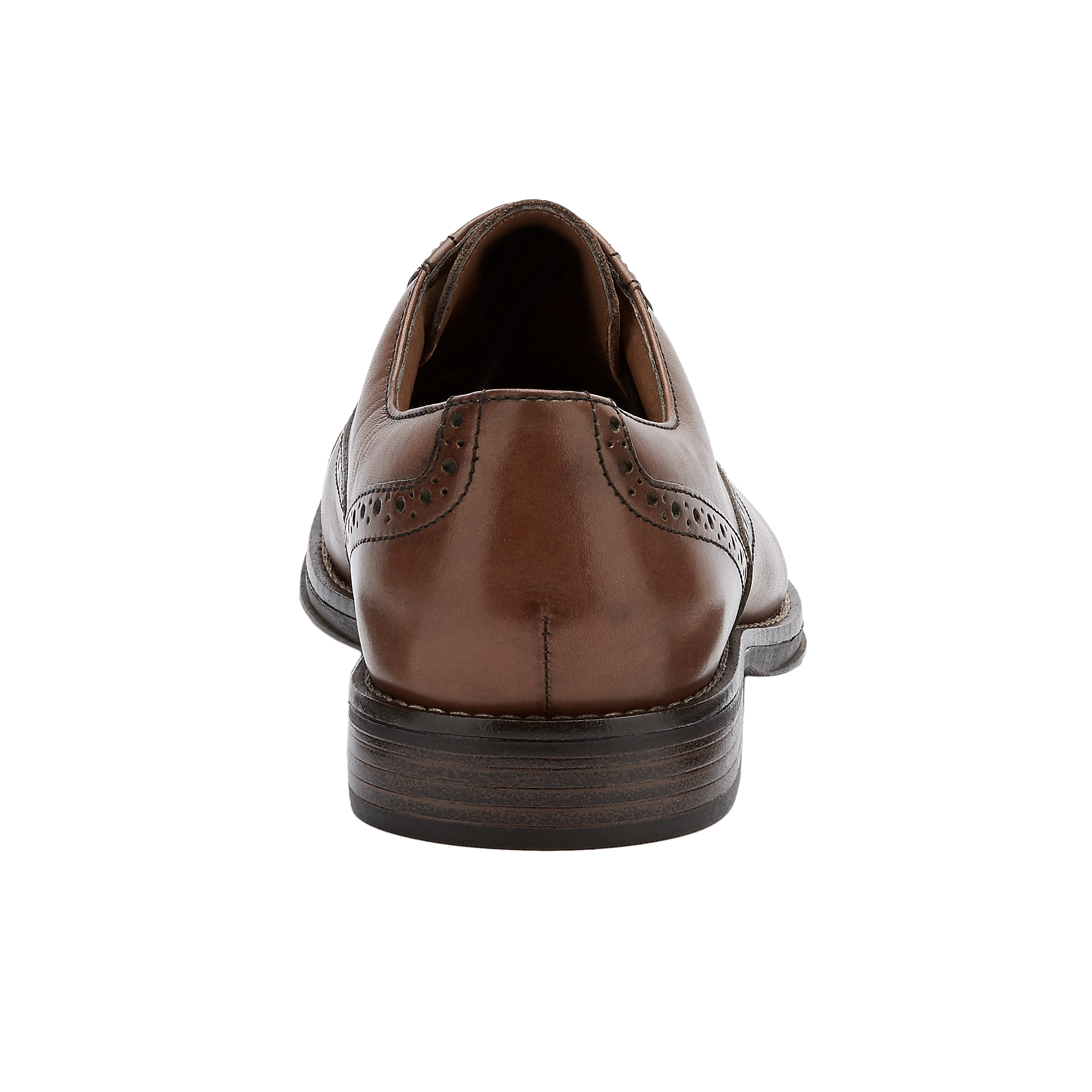 G-H-Bass-amp-Co-Mens-Woolf-Genuine-Leather-Classic-Cap-Toe-Lace-up-Oxford-Shoe