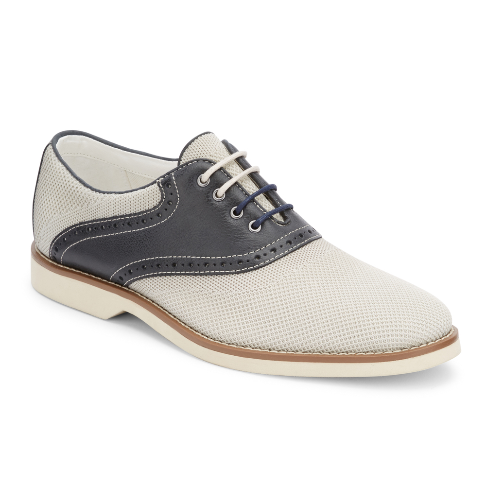 Buy Cheap New Arrival G.H. Bass & Co. Parker Saddle Oxford(Men's) -Taupe/Chocolate Leather Buy Cheap Popular Sale Sast Pay With Paypal Sale Online Footlocker Pictures JaAYkz3iB