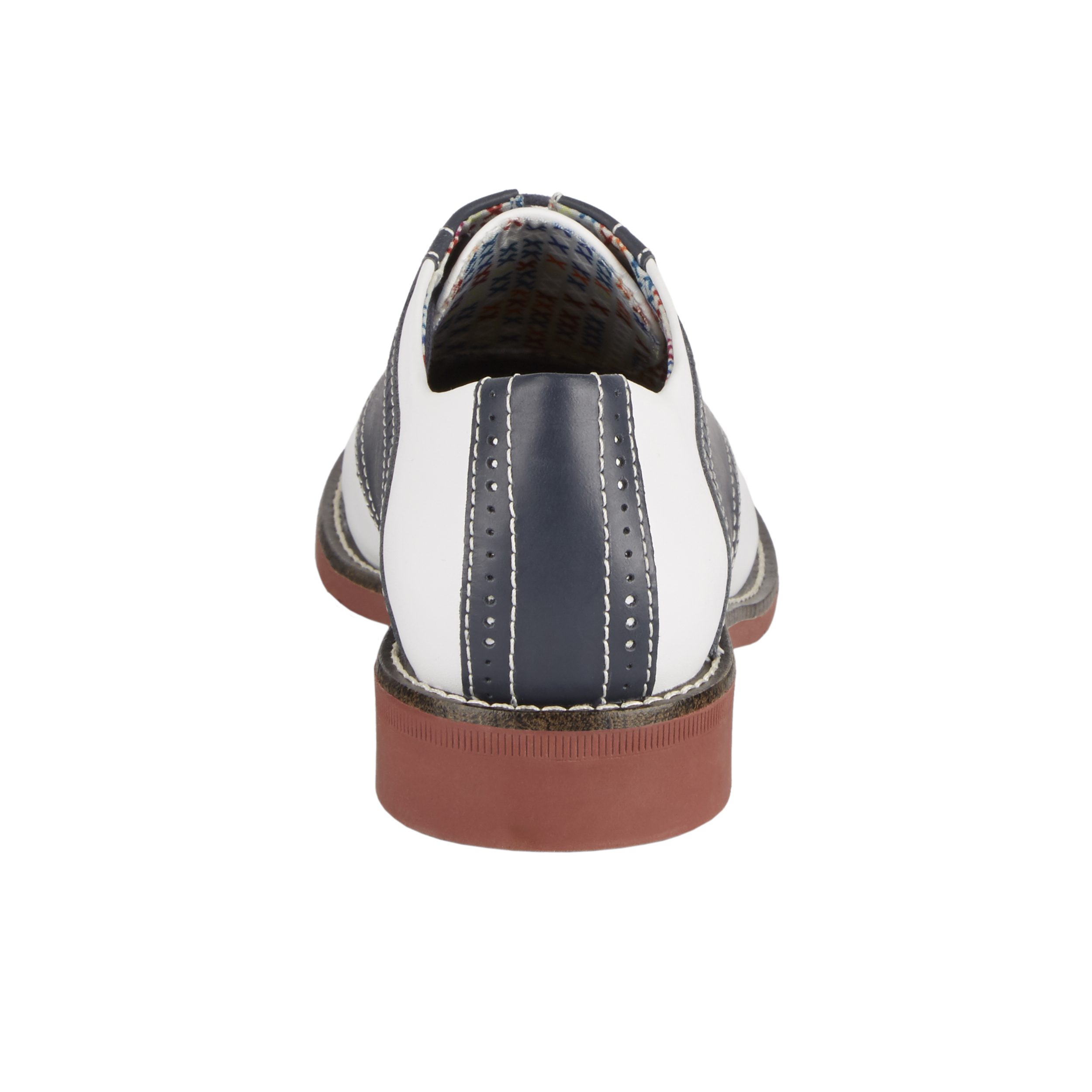 bcd1fca8cdec2 Details about G.H. Bass & Co. Womens Dora Genuine Leather Two-Tone Saddle  Lace-up Oxford Shoe