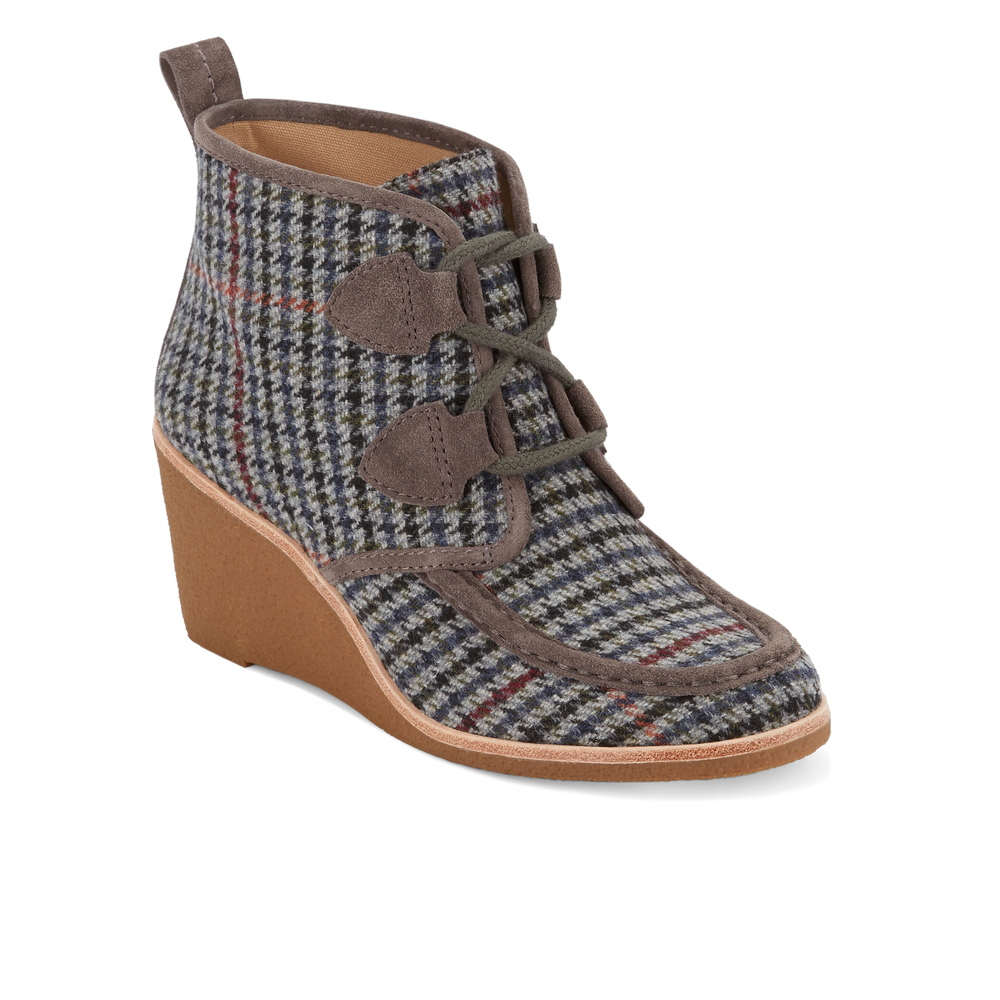 G-H-Bass-amp-Co-Womens-Rosa-Genuine-Leather-Wedge-Heel-Bootie-with-Crepe-Outsole