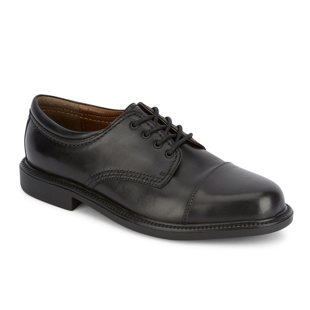 DOCKERS 902214 Black Men Gordon Cap Toe Oxford Coose Size 9.5 M  67851ae8b552