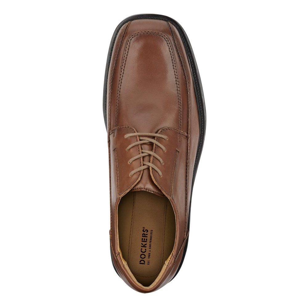 Dockers-Mens-Perspective-Genuine-Leather-Business-Dress-Lace-up-Oxford-Shoe thumbnail 14