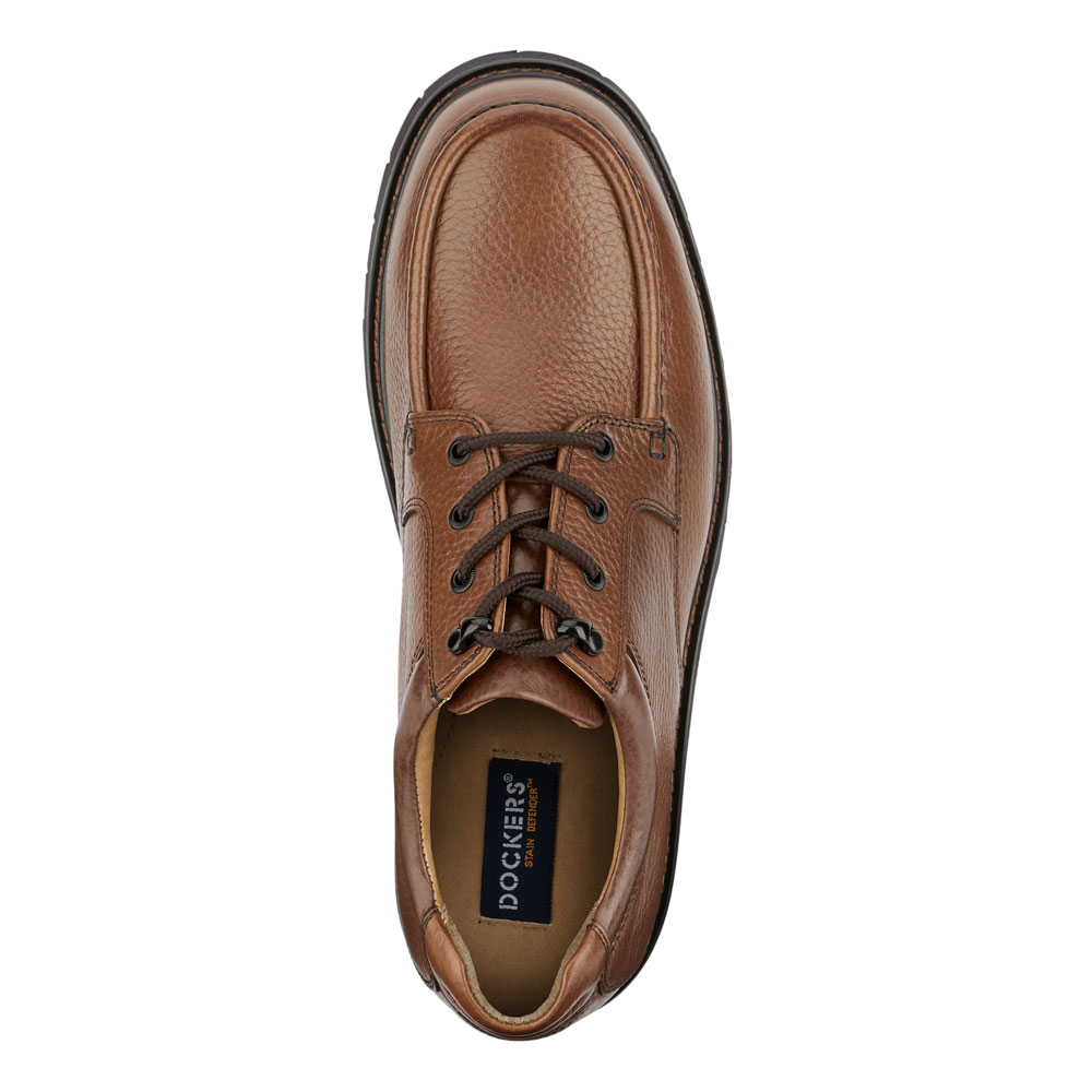 Dockers-Mens-Glacier-Genuine-Leather-Rugged-Casual-Lace-up-Oxford-Shoe thumbnail 14