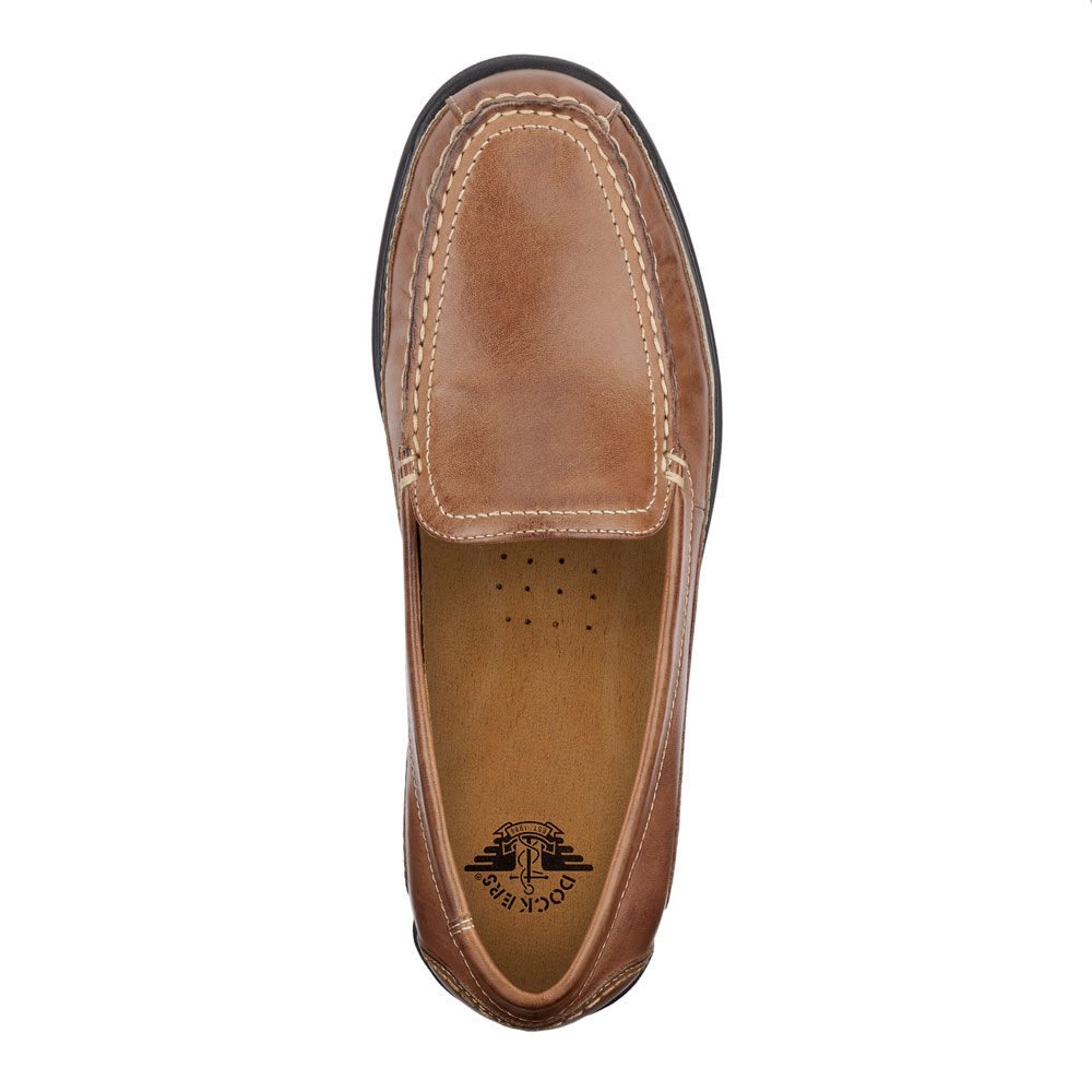Dockers-Mens-Catalina-Leather-Casual-Slip-on-Comfort-Loafer-Shoe thumbnail 14