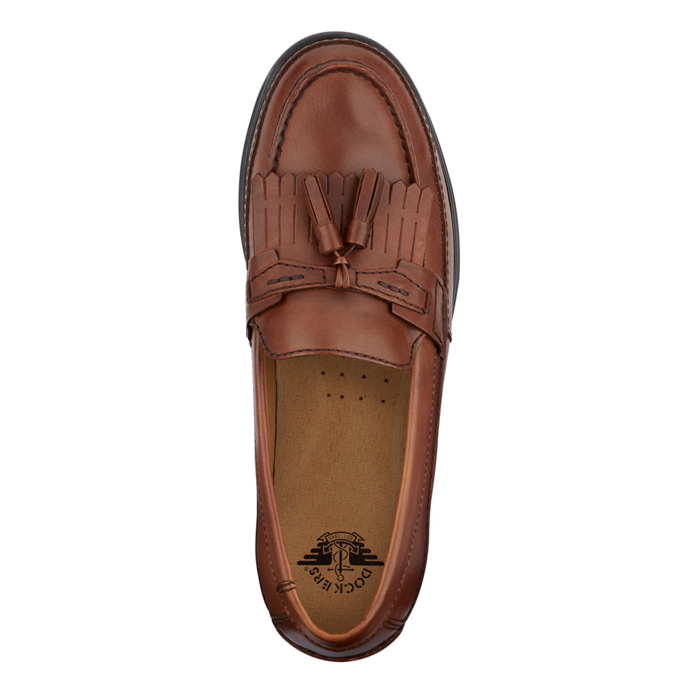 Dockers-Mens-Sinclair-Leather-Dress-Casual-Tassel-Slip-on-Comfort-Loafer-Shoe thumbnail 8