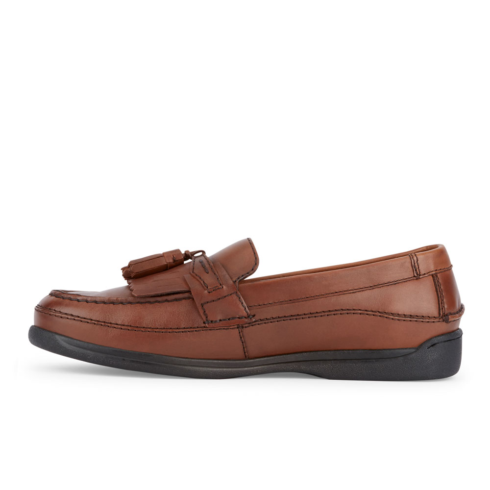 Dockers-Mens-Sinclair-Leather-Dress-Casual-Tassel-Slip-on-Comfort-Loafer-Shoe thumbnail 11
