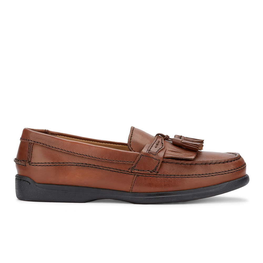 Dockers-Mens-Sinclair-Leather-Dress-Casual-Tassel-Slip-on-Comfort-Loafer-Shoe thumbnail 12