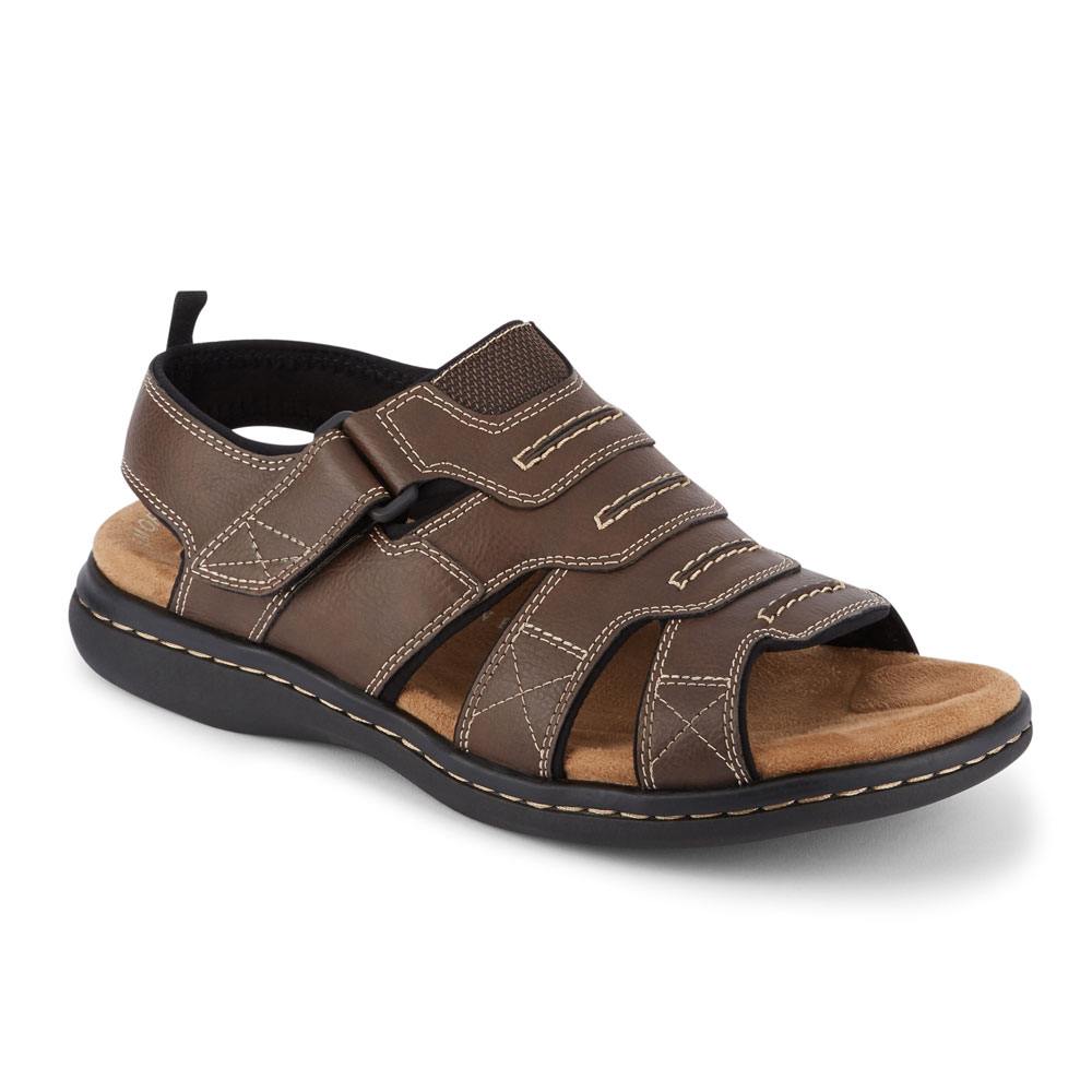 c70e69367d64 Details about Dockers Mens Shorewood Casual Comfort Outdoor Sport Fisherman  Sandal Shoe